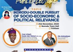 Discourse On Ikorodu's Relevance Takes Centre Stage Tomorrow
