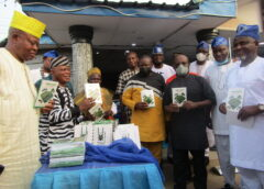 Community Unveils Book On Igbe Road, Honours Oba Kasali, Rep. Benson, Daini, IMPACT, Others